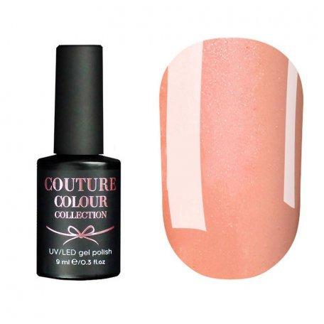 Гель-лак Couture Colour №014 (приглушенный бежево-розовый с микроблеском), 9 мл