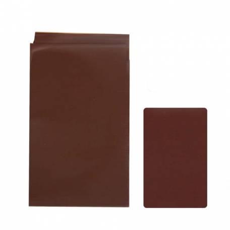Фольга для кракелюра Komilfo, темно-коричневая, матовая