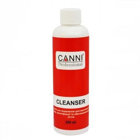 Средство для снятия липкого слоя - Средство для удаления липкого слоя Cleanser 3 in 1 Canni, 220 мл