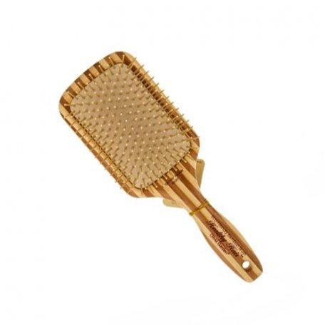 Массажные щетки - Olivia Garden щетка для волос бамбуковая большая