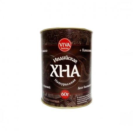 Купить Хна VIVA коричневая 60 грамм