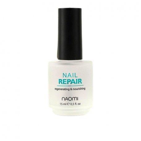 Лечебные лаки для ногтей и кутикулы - Naomi Nail Repair - реконструктор для ногтей, 15 мл