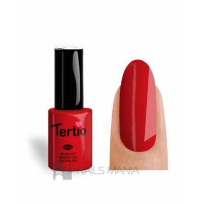Гель-лак Tertio №004 (Коралловый, эмаль), 10 мл