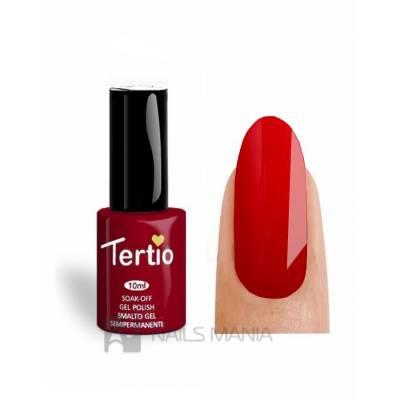 Гель-лак Tertio №089 (Красный, эмаль), 10 мл