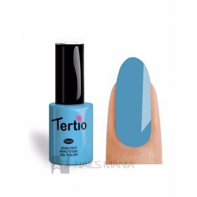 Гель-лак Tertio №135 (Бирюзово-голубой, эмаль), 10 мл