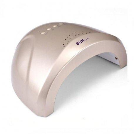 Уф LED лампы для маникюра - UF/LED лампа SUNone Professional  48 ВТ (золотая)