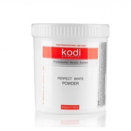 Базовые акрилы - Базовый Белый Акрил Kodi Perfect White Powder  500 г
