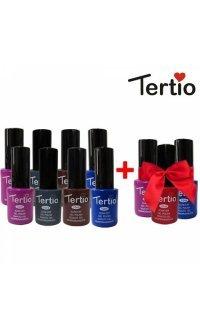 Набір гель-лаків Tertio 8+3 в подарунок