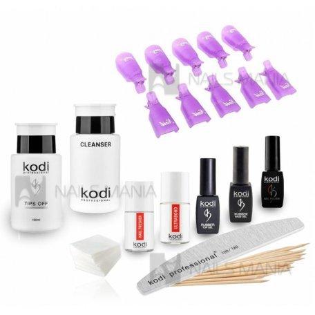 """Стартовые наборы гель-лаков Kodi - Стартовый набор гель-лаков Kodi """"премиум"""" (без УФ лампы)"""