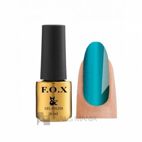 Купити Гель-лак F.O.X Gold Cat Eye №008 (Синій)