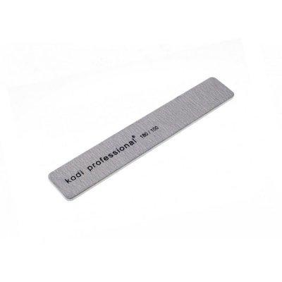 Пилка для ногтей Grey 180/100 Прямоугольник