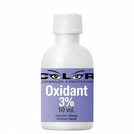 Краска для бровей и ресниц - Окислитель для краски AWF Oxidant 3% Liquid - жидкий 3%, 50 мл