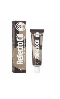 Фарба для брів і вій (натуральний коричнева) RefectoCil №3 Natural Brown , 15мл 3080171