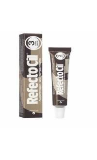 Краска для бровей и ресниц (натуральный коричневая) RefectoCil №3 Natural Brown , 15мл 3080171