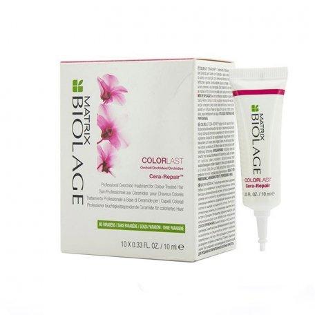 Концентрат для сохранения цвета окрашенных волос Matrix Biolage Colorlast Cera Repair 10х10 мл