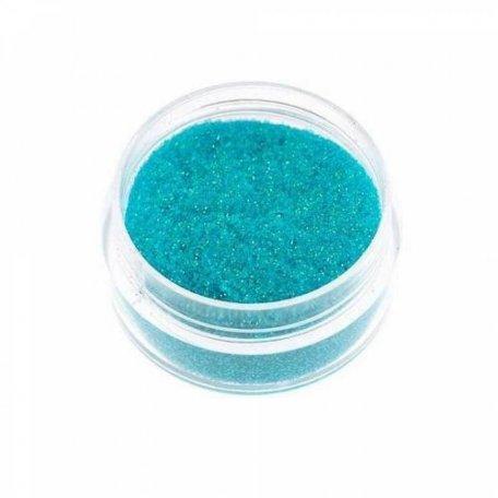 Глиттер - Глиттер (блёстка) мелкий голубой голографик GG11 0,2 мм
