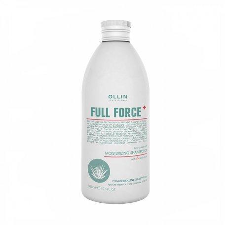 Увлажняющий шампунь против перхоти с экстрактом алоэ OLLIN 250 мл
