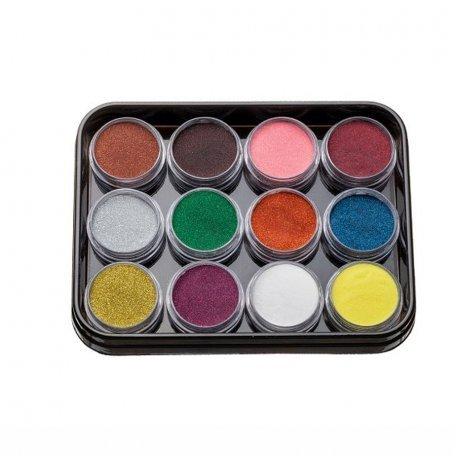 Наборы акрилов - Набор цветных акрилов G1 (12 шт)
