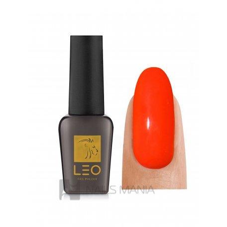Гель-лаки LEO - Гель-лак Leo №012 (красный, эмаль), 9 мл