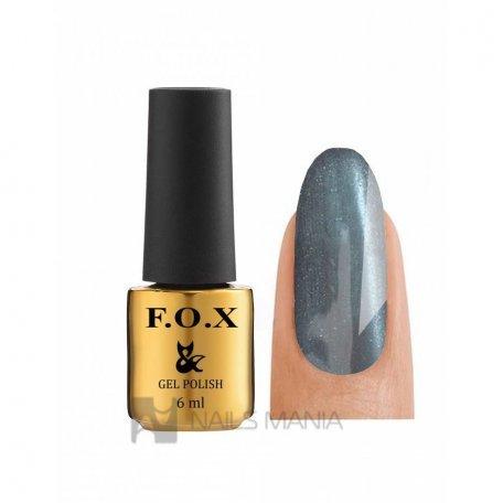Гель-лак F.O.X Gold Cat Eye №134, 6 мл