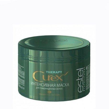 Маски для волос - Estel Curex Therapy интенсивная питательная маска поврежденных волос, 500 мл