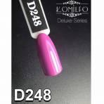 Купить Гель-лак Komilfo Deluxe Series №D248 (темный, приглушенно-лиловый, эмаль), 8 мл