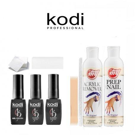 Стартовый набор гель-лаков Kodi (без лампы)
