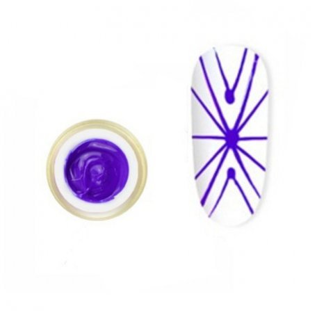 Купить Гель-паутинка Canni Spider Gel / 3D Embossing gel - 06 сиреневый 8 мл