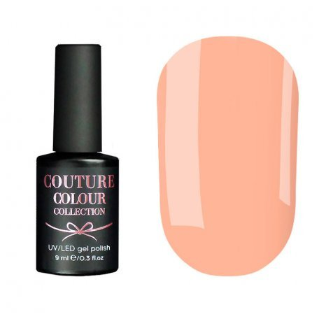 Гель-лак Couture Colour №016 (персиково-розовый, эмаль), 9 мл