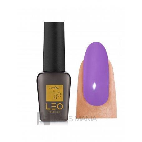 Гель-лаки LEO - Гель-лак Leo №049 (насыщенный сиреневый, эмаль), 9 мл