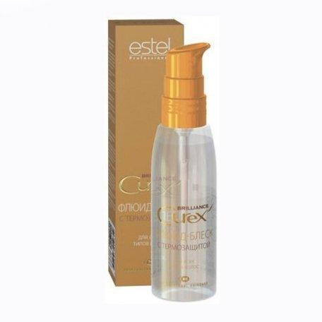 Estel Curex Brilliance флюид-блеск с термозащитой для всех типов волос, 100 мл
