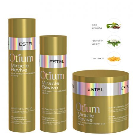 Комплекс для восстановления волос Otium Miracle Revive