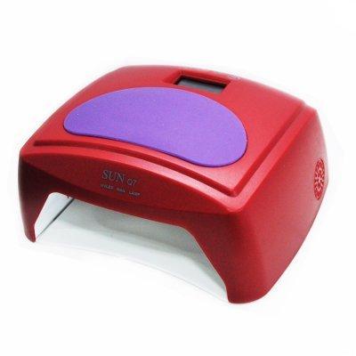 UF/LED лампа SUNQ7 Professional  48 ВТ (красная)
