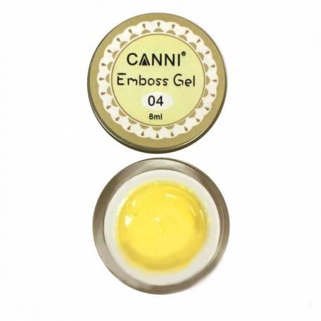 Купити Гель-паста 3D Emboss gel Canni 8 мл №004