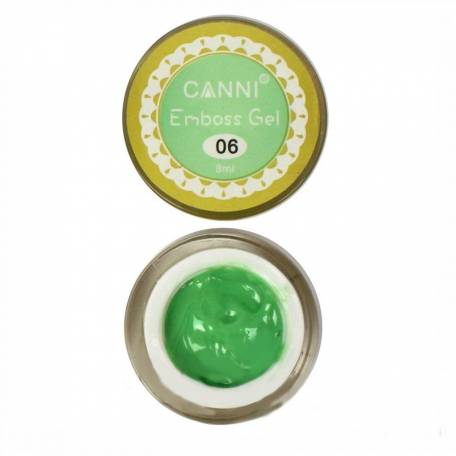 Купити Гель-паста 3D Emboss gel Canni 8 мл №006