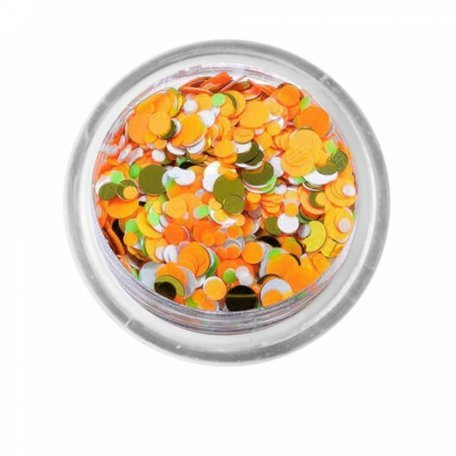 Конфетти для декора ногтей - Камифубуки (конфетти) PNB 01/ Seguins 01, 1 г