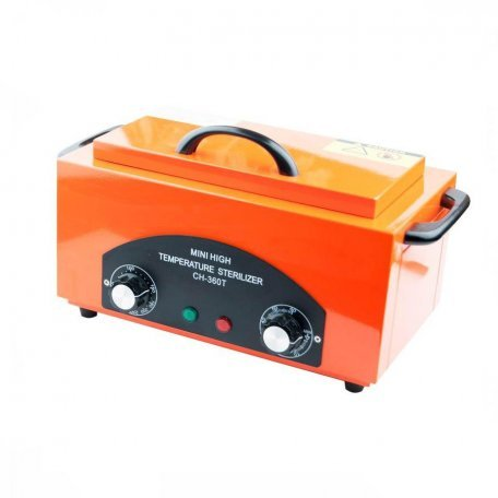 Стерилизатор сухожаровой шкаф CH-360T для косметологических инструментов, оранжевый