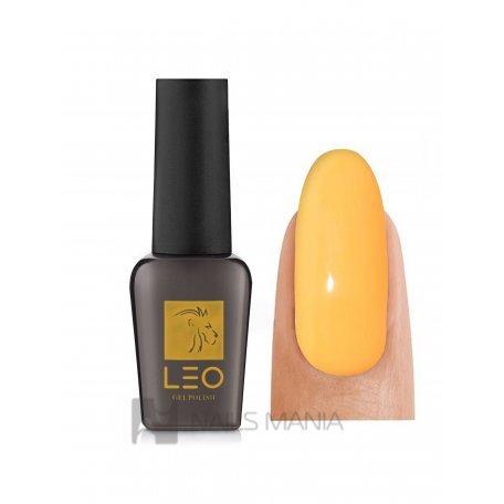 Гель-лаки LEO - Гель-лак Leo №096 (светлый яркий тыквенно-оранжевый, эмаль), 9 мл