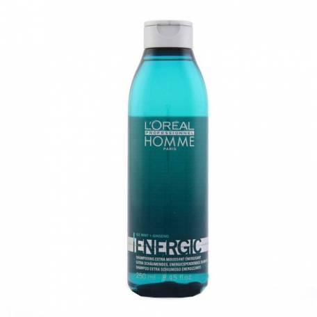 Купить Бодрящий шампунь для мужчин L'Oreal Professionnel Homme Energic 250 мл