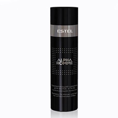 Estel Alpha Homme тонизирующий шампунь с охлаждающим эффектом, 250мл