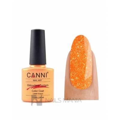 Гель-лак CANNI №218 (рыжее золото с блеском) 7.3 мл.
