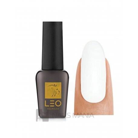 Гель-лаки LEO - Гель-лак Leo №058 (молочно-серый, эмаль), 9 мл