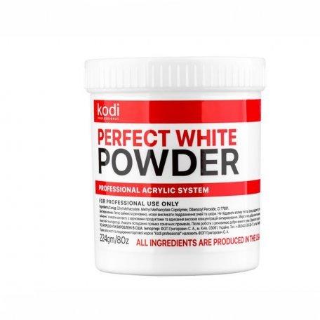 Базовые акрилы - Базовый Белый Акрил Kodi Perfect White Powder  224 г