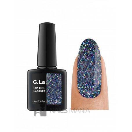 Гель-лак G.La color UV Gel Lacquer 242 (Синий), 10 мл