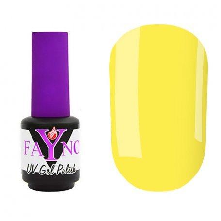 Гель-лаки Fayno - Гель-лак Fayno №019 (желтый, эмаль), 7 мл