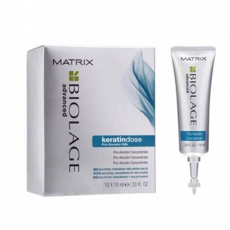 Купить Концентрат для поврежденных волос Matrix Biolage Keratindose Pro Keratin 10х10 мл