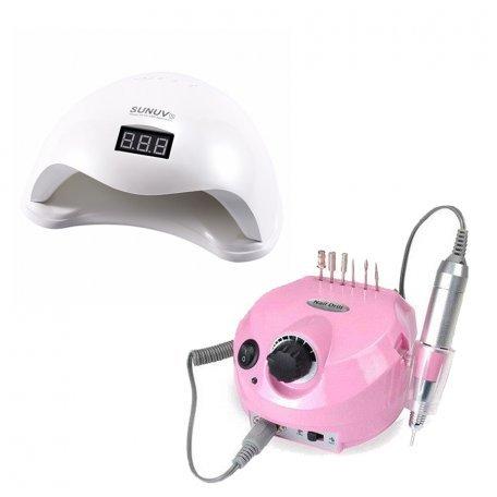 Купити Набір лампа Sun 5 48W + фрезер DM-202 35 000 об/хв