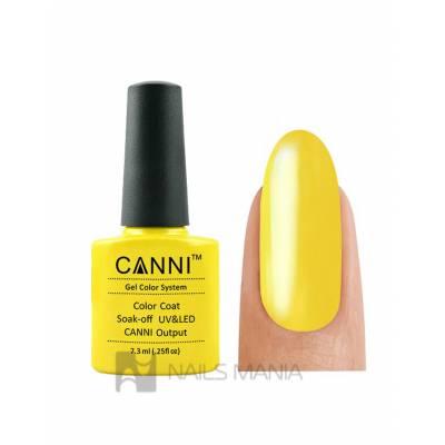 Гель-лак CANNI №001 (желтый, эмаль), 7.3 мл